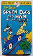 Dr. Seuss Sing-Along Classics - Green Eggs and Ham and Other Stories VHS Cover