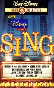 Sing 2000 VHS