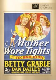 1947 - Mother Wore Tights DVD Cover (2014 Fox Cinema Archives)