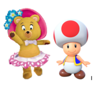 Tessie and Toad