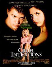 1999 - Cruel Intentions Movie Poster