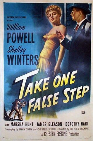 File:1949 - Take One False Step Movie Poster.jpeg