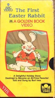 The First Easter Rabbit VHS