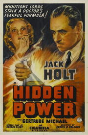 1939 - Hidden Power Movie Poster
