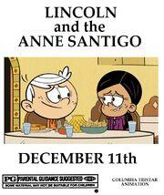 Lincoln & The Anne Santigo Poster 1998
