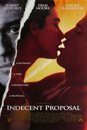 1993 - Indecent Proposal Movie Poster