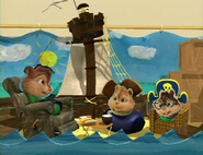 Chipmunks pirates who don't do anything