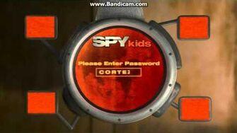 Opening to Spy Kids (2001) AUS DVD