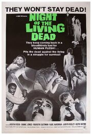 1968 - Night of the Living Dead Movie Poster