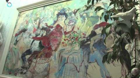 Ten huize van Mechelse kunstenares Marijke Van Kenhoven