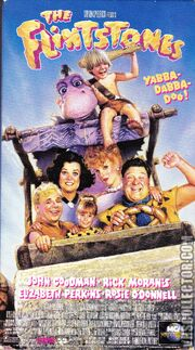 The Flintstones VHS Front Cover