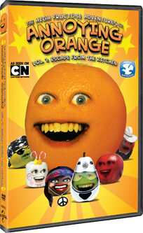 The high fructose adventures of annoying orange escape from the kitchen universal dvd