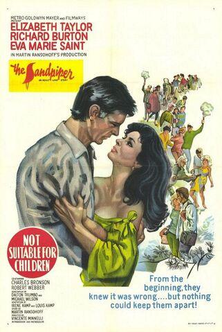 File:1965 - The Sandpiper Movie Poster -1.jpg