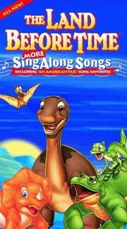 The land before time more sing along songs vhs