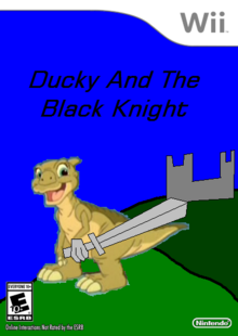 Ducky and the black knight