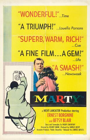File:1955 - Marty Movie Poster.jpg