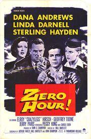 1957 - Zero Hour Movie Poster