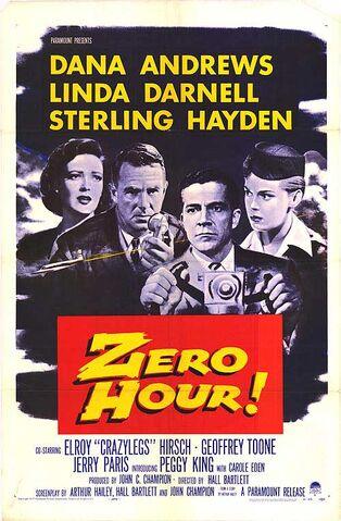 File:1957 - Zero Hour Movie Poster.jpg