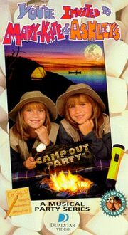 Camp Out Party VHS