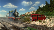 Thomas and Bertie at Bluff's Cove