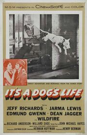 1955 - It's a Dog's Life Movie Poster