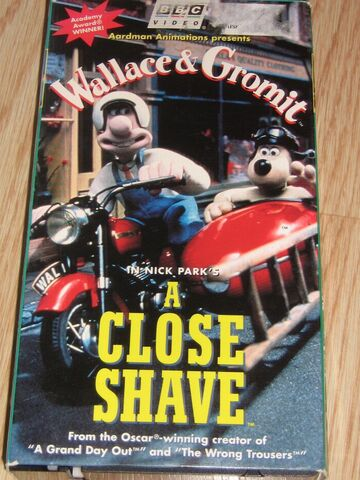 File:A Close Shave VHS.jpg