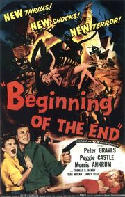 1957 - Beginning of the End Movie Poster