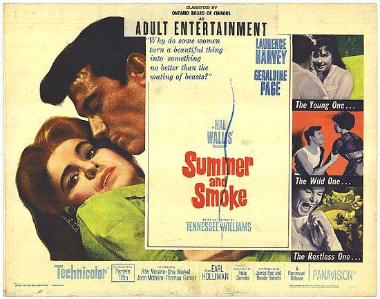 File:1961 - Summer and Smoke Movie Poster.jpeg