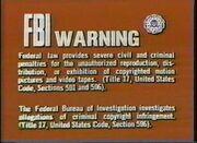 1978 FBI Warning Screen