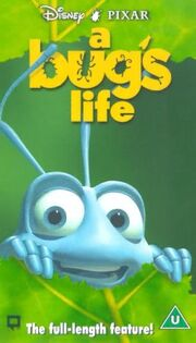 A bugs life uk vhs
