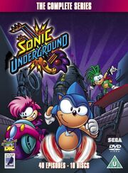 Sonic Underground The Complete Series