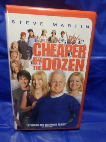 File:Cheaper by the Dozen VHS.jpg