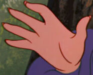 Alice's Sister's Hand