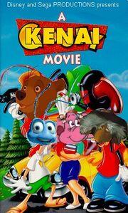 A Kenai Movie 1995 VHS Cover