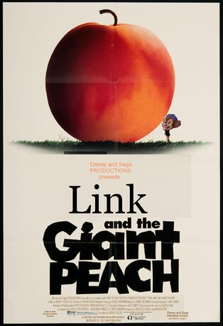 Link and the Giant Peach Poster