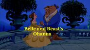 Belle and Beast's Ohanna Logo