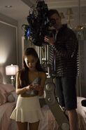 Ariana BTS of the Pilot
