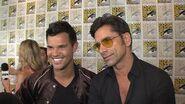 Taylor Lautner & John Stamos On Joining Scream Queens Season 2