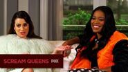 SCREAM QUEENS Between 2 Queens Lea & Keke
