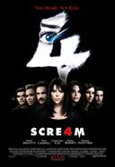 SCRE4M poster