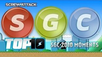 Top10 SGC 2010 Moments ScrewAttack!