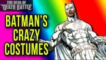 Batman'sCRAZYCostumes!