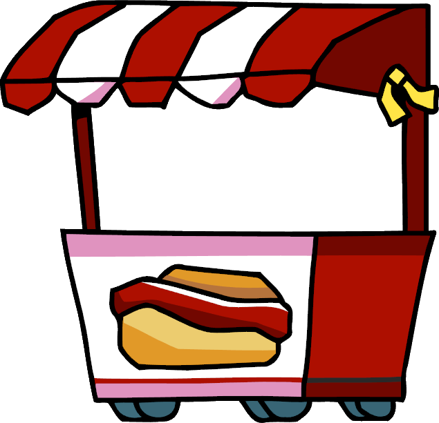 Image Hot Dog Stand Png Scribblenauts Wiki Fandom