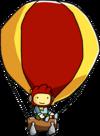 Hot Air Balloon Using