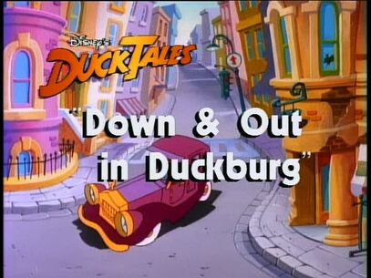 Down and Out in Duckburg titlecard