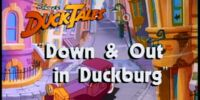 Down and Out in Duckburg