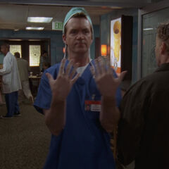 In scrubs <span style=