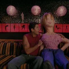 Todd and a Molly Piñata