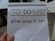 5x1 to do list