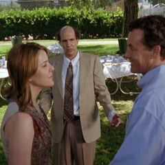 Ted divorces Dr. Cox and Jordan.